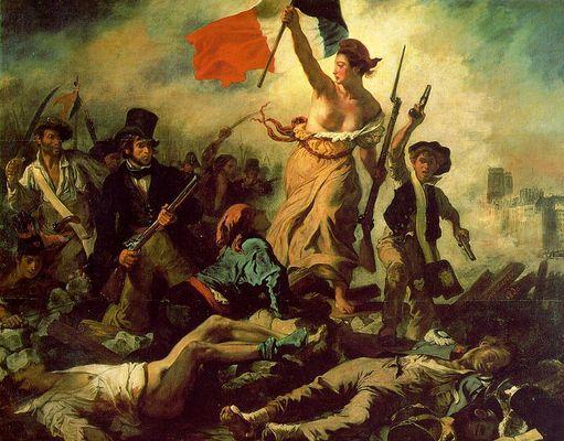 La liberté guidant le peuple - Eugène Delacroix