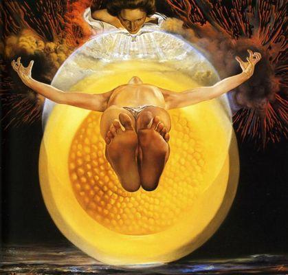 L'ascension du Chrit - Salvador Dali